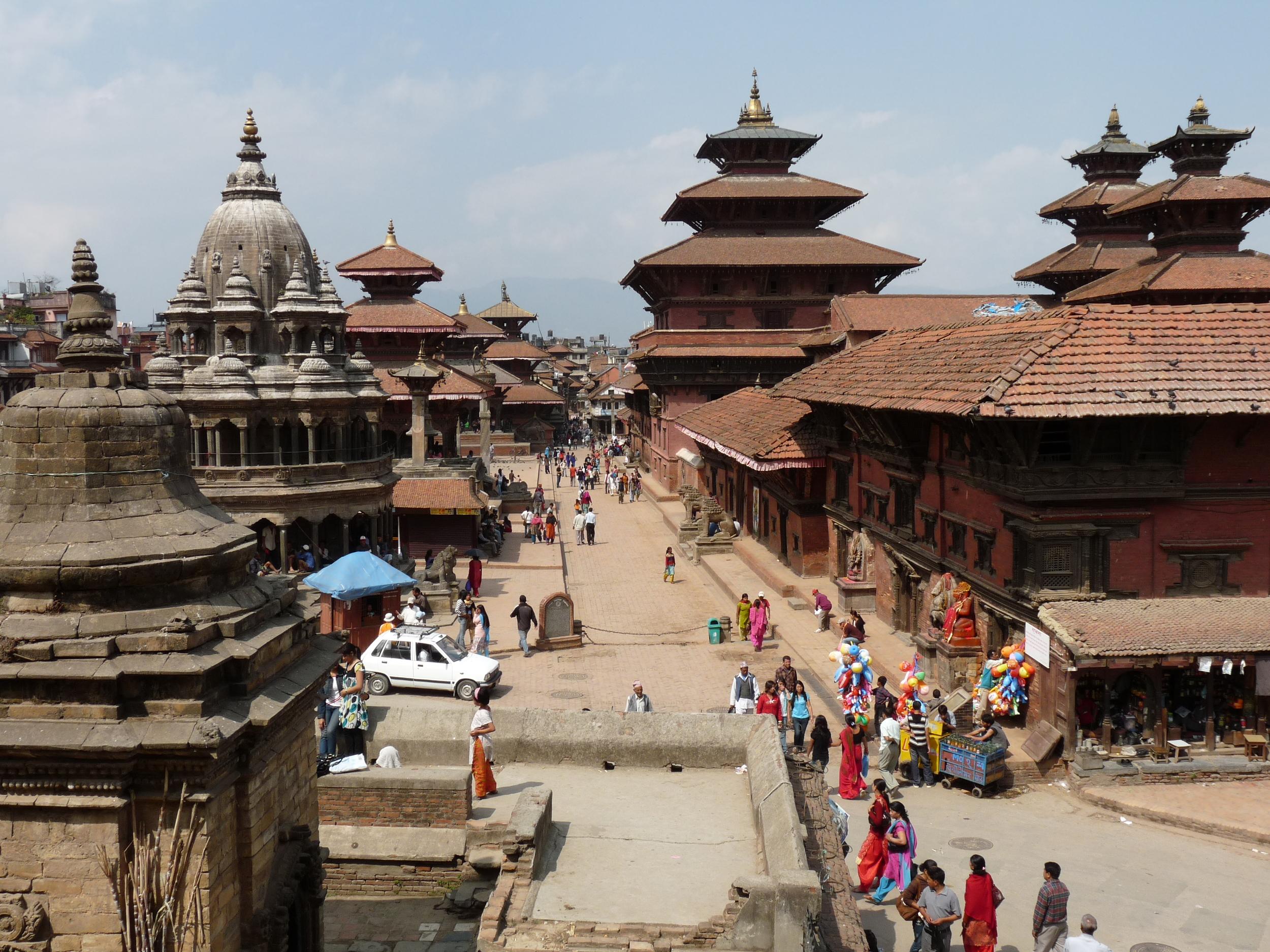 Durbar Square ''la place du palais'' à Patan