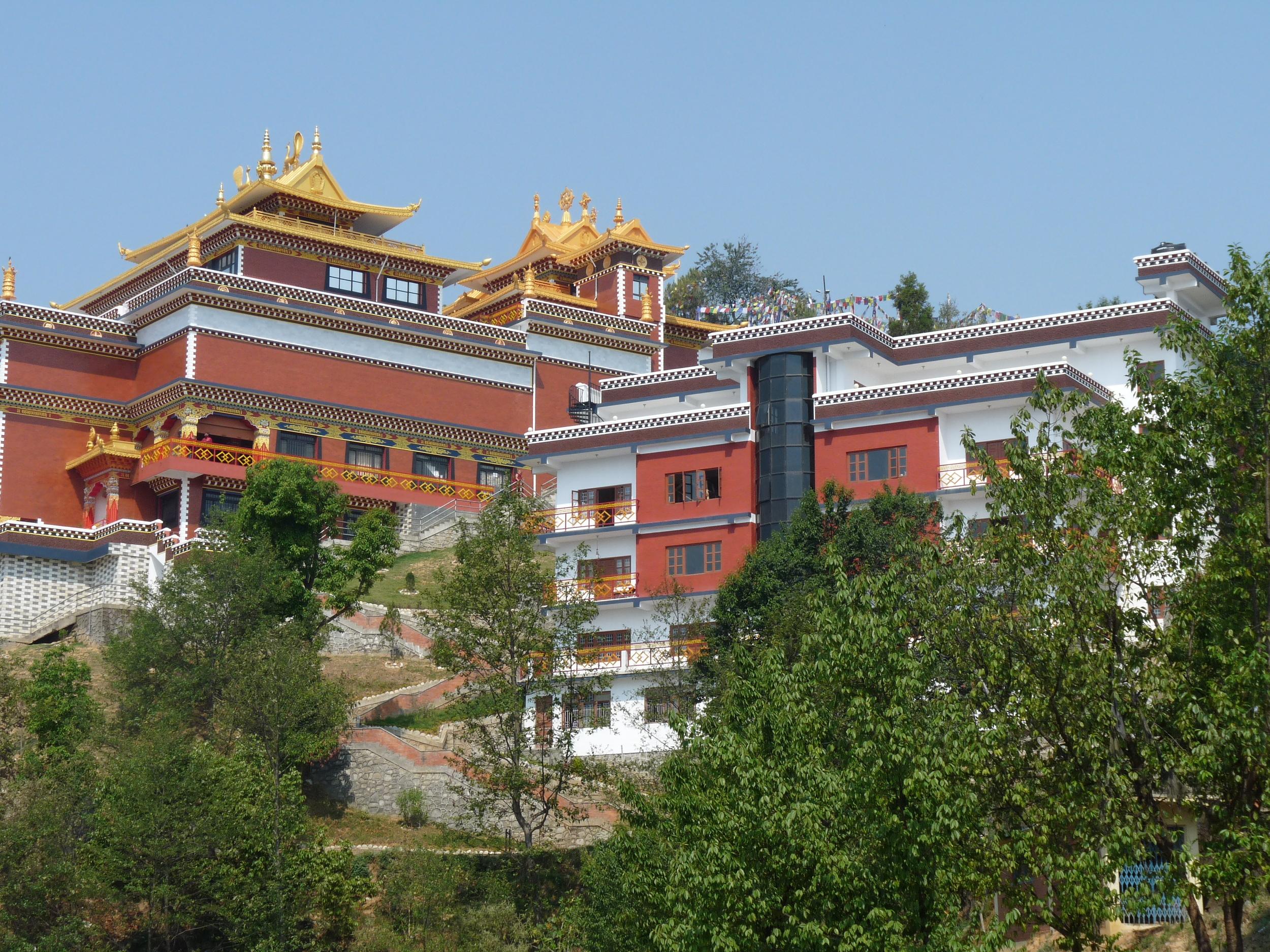 Le monastère de Namo Buddha dans la vallée de Katmandou