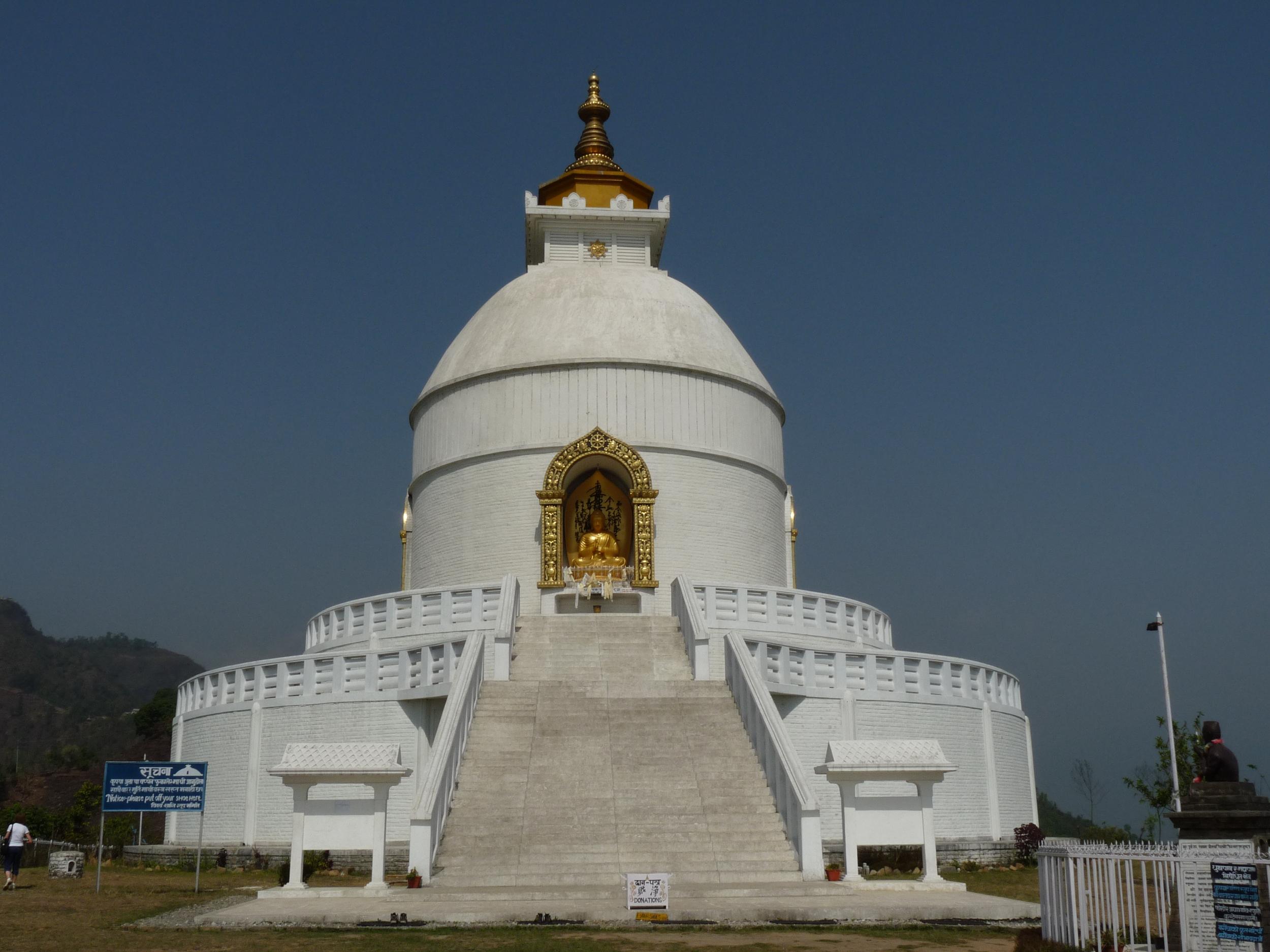 Pagode de la paix à Pokhara pour promouvoir la paix dans le monde