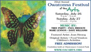 July 27th afternoon- Festival of the Arts in Owatonna, MN