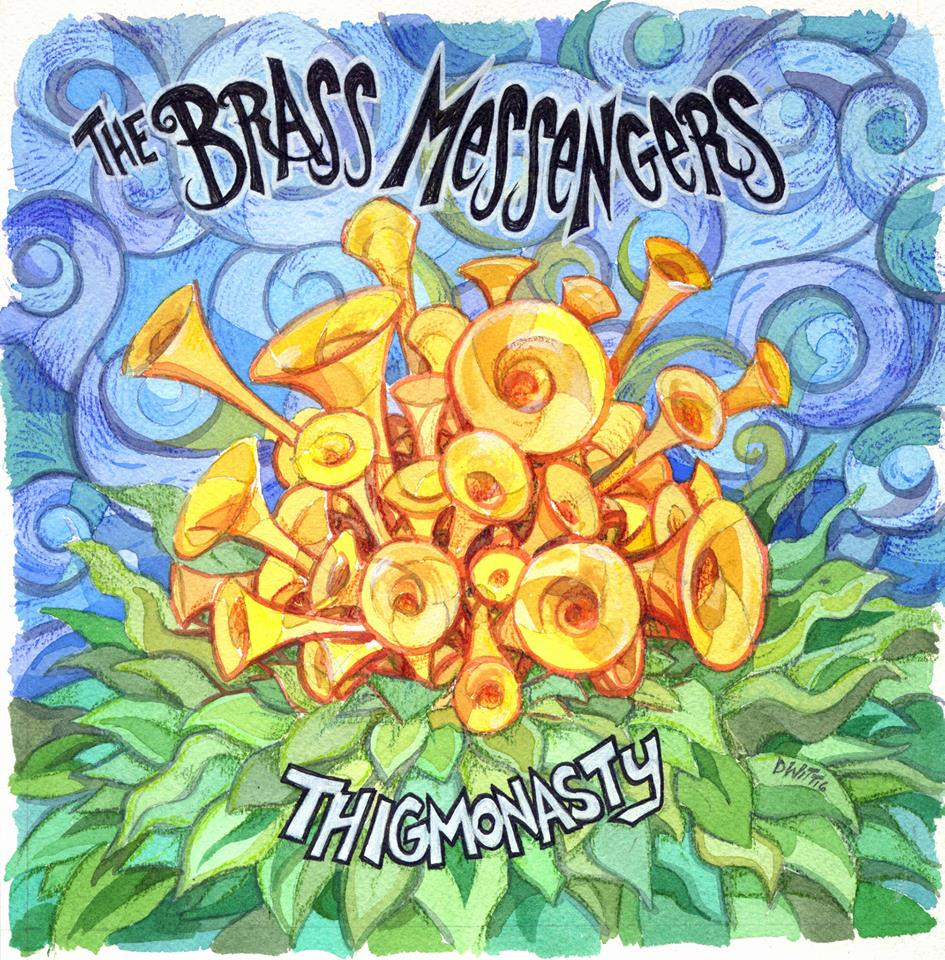 "Brass Messengers ""Thigmonasty"" Artwork"