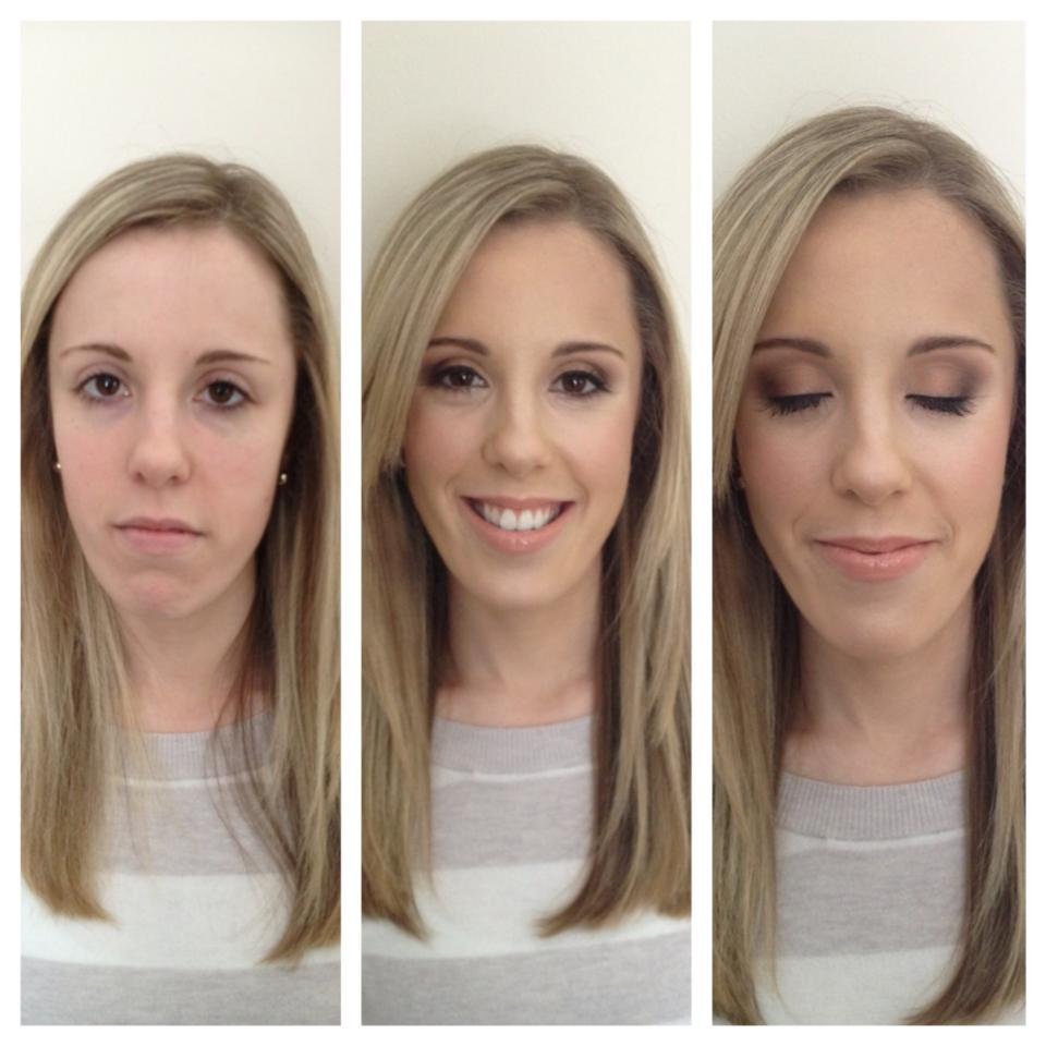 A poorly lit photo compilation of Lauren's bridal consultation!