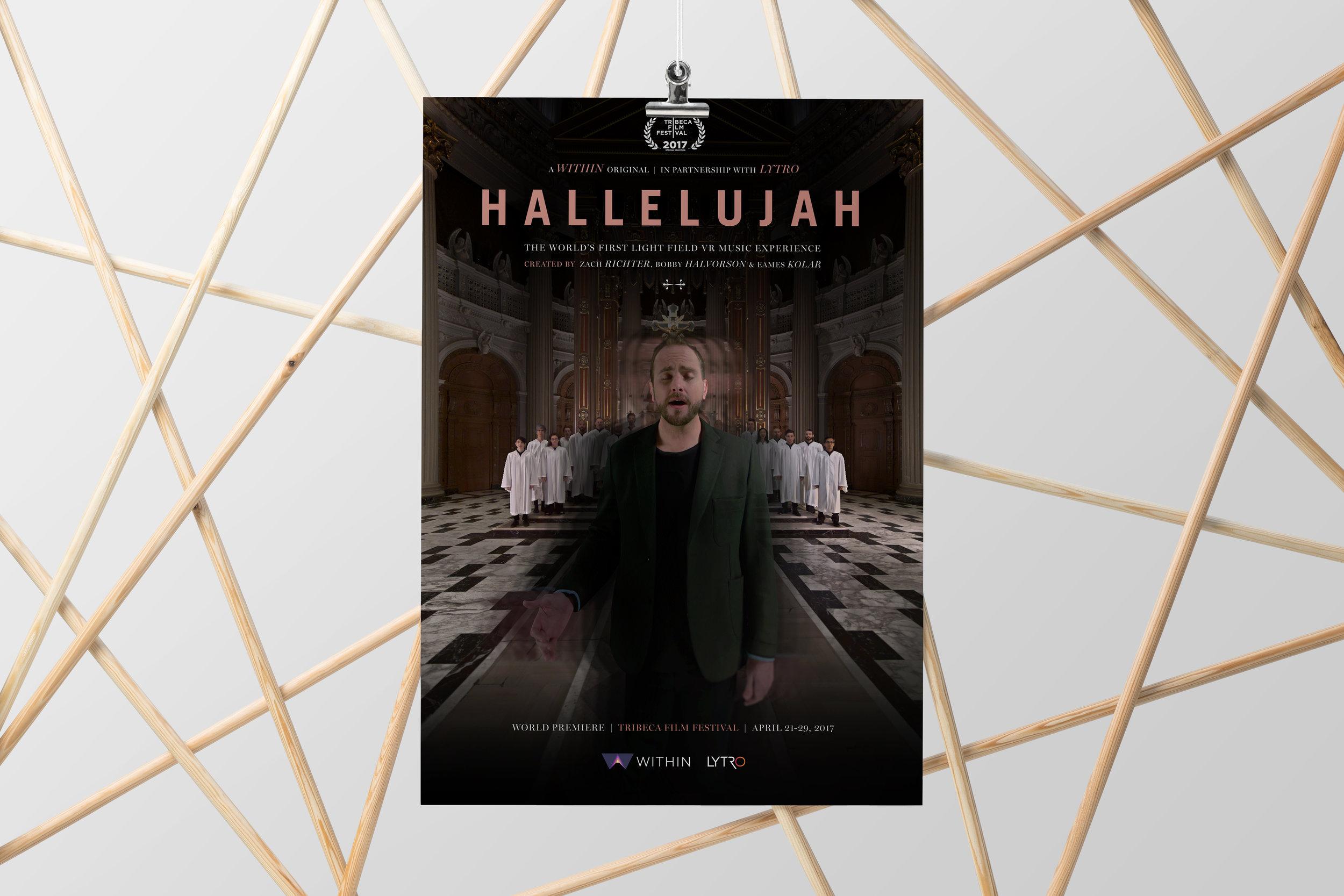 'Hallelujah' premiere poster