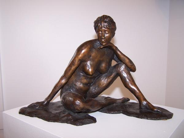"Victoria   Limited Edition, 1/12  Cast Bronze   8"" x 13"" x 7""  $2,200"