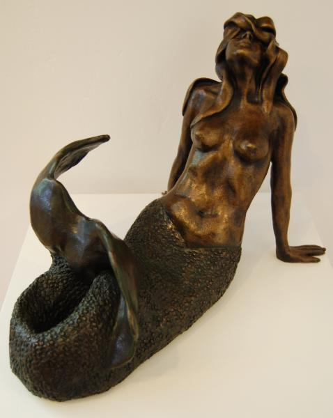 "Bella  Limited Edition, 1/12  Cast Bronze   10"" x 13"" x 13""  $3,200"