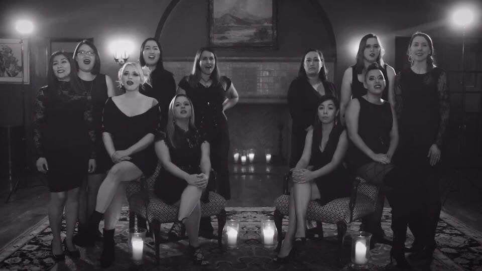 The ladies of Top Shelf Vocal - I Did Something Bad cover