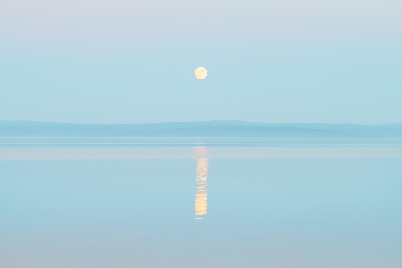 Der Mond in Khuvsgul