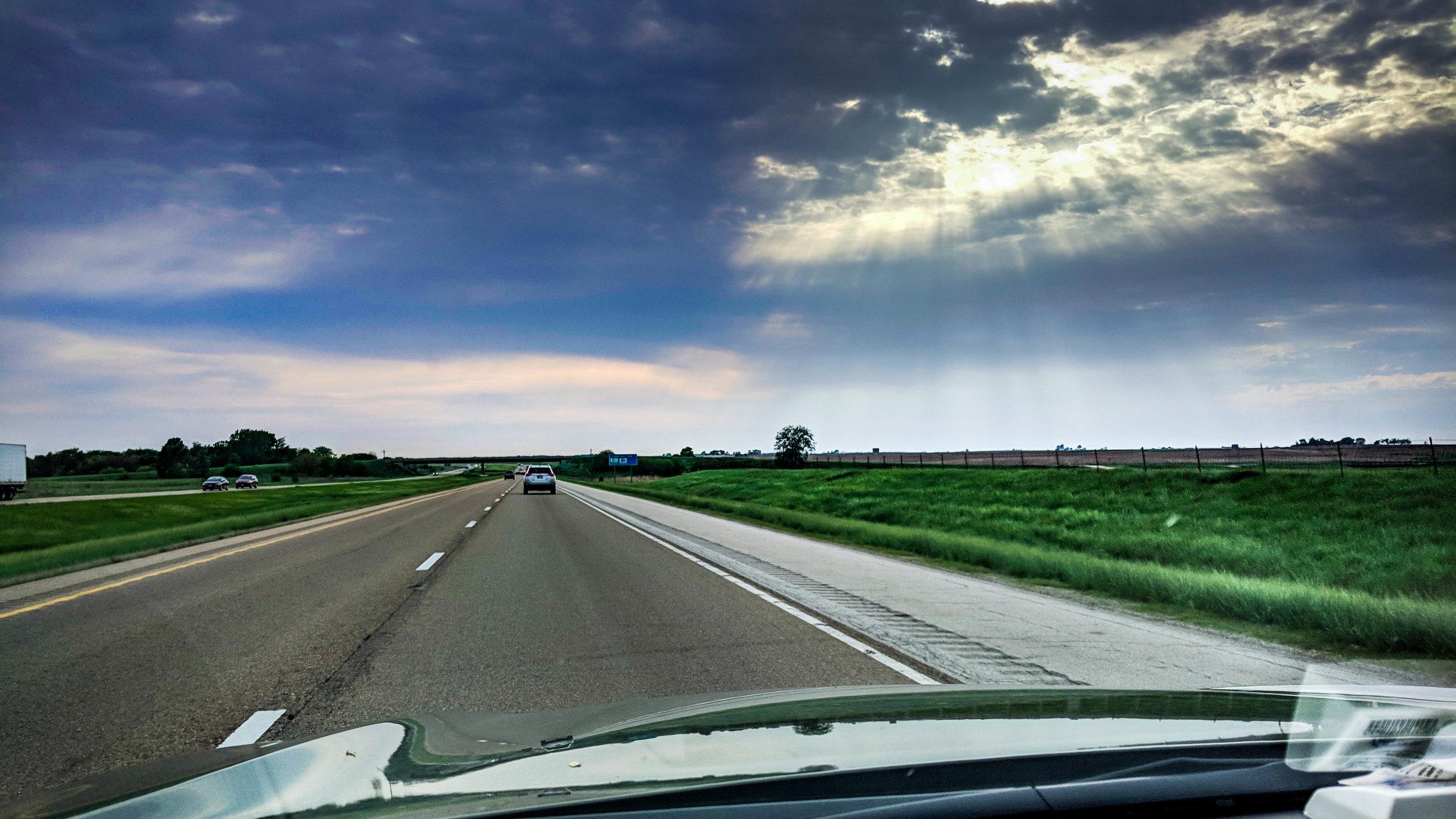 Sun Rays in Illinois