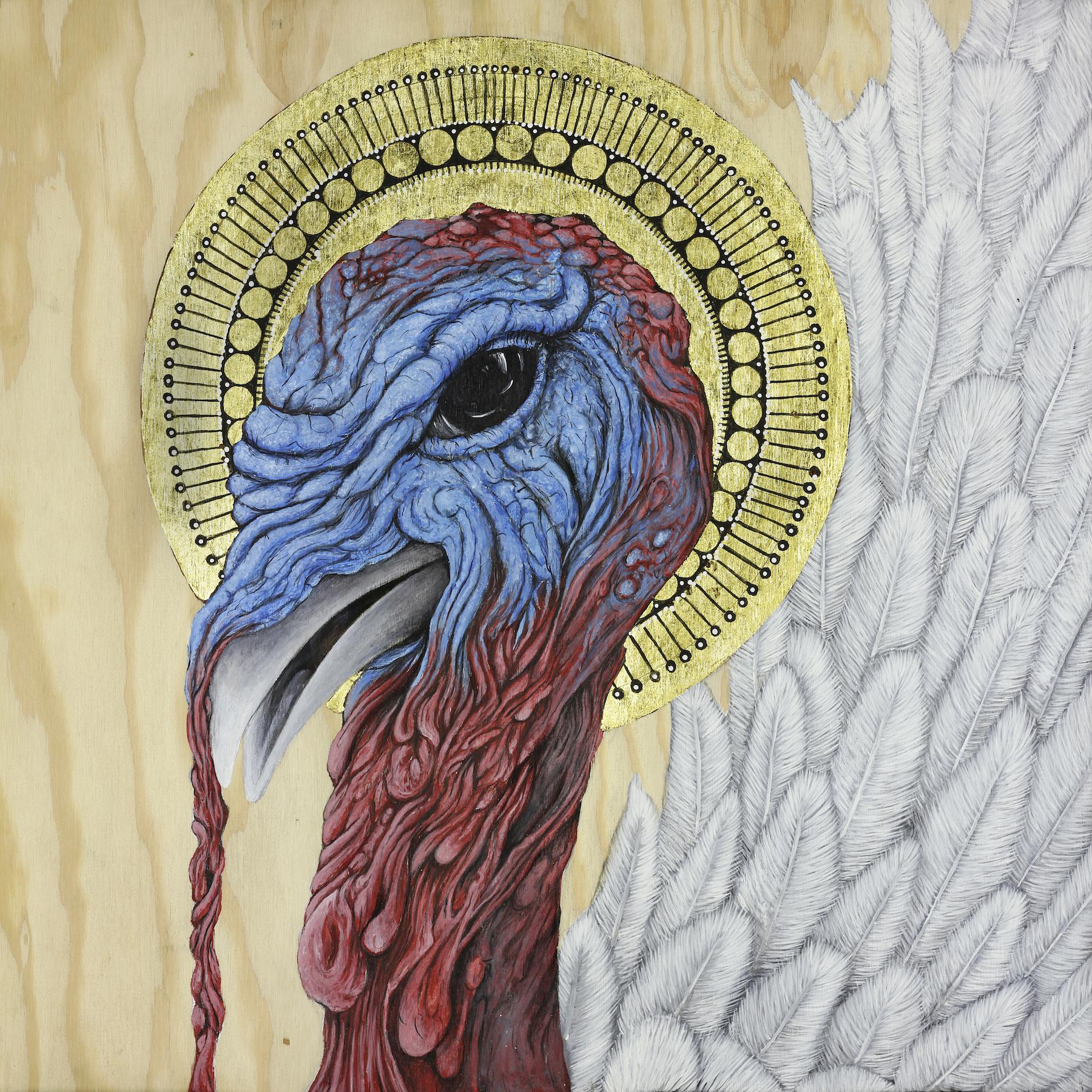 St. Meleagris: Patron Saint of Broad Breasted Turkeys