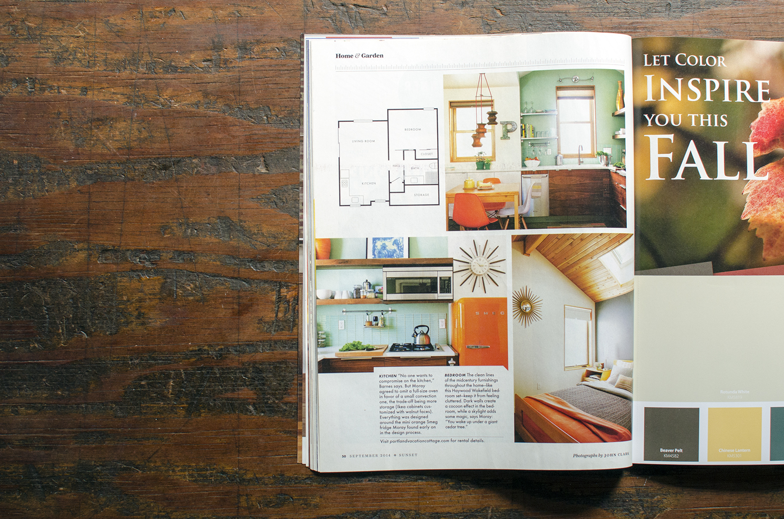 Sunset Magazine  , Small Spaces, Big Dreams Winner. Project:  Ladd's Backyard Cottage