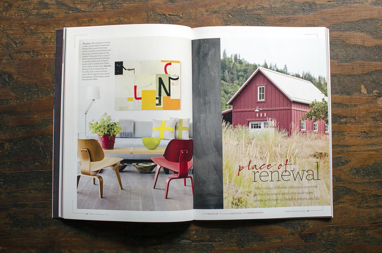 Modern Farmhouse Style  . Project:  Mosier House