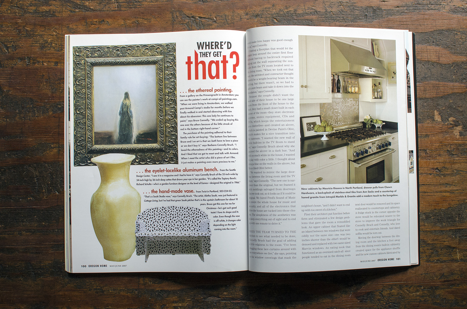 Oregon Home Magazine  . Project:  NW Quimby Street
