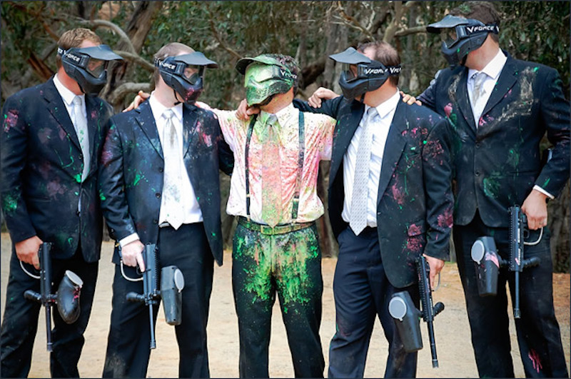 Bucks party perth paintballing