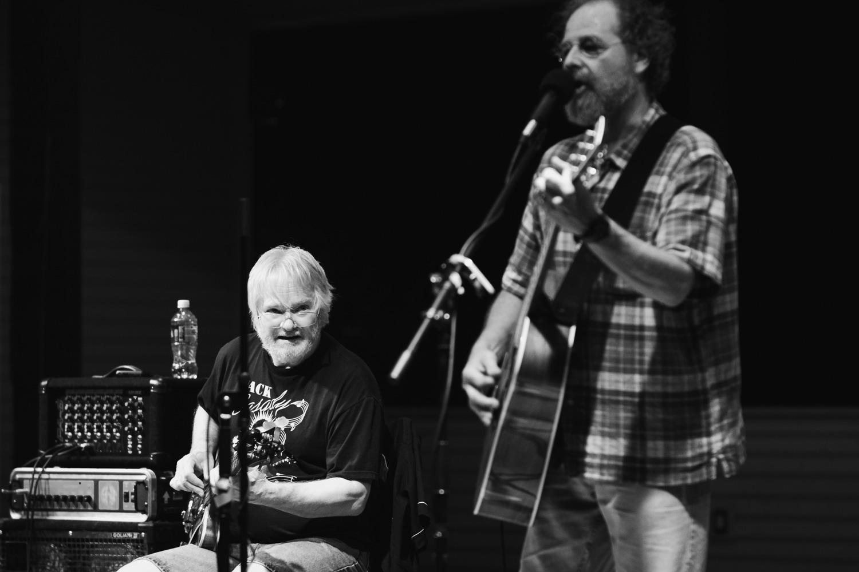 Ralph Kylloe (left) -Bass Guitar   George VanDusen (right) - Guitar, Vocals