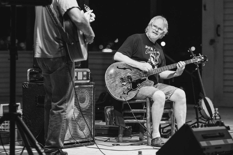 Anthony Cocca (left) - Guitar   Ralph Kylloe (right) - Bass Guitar