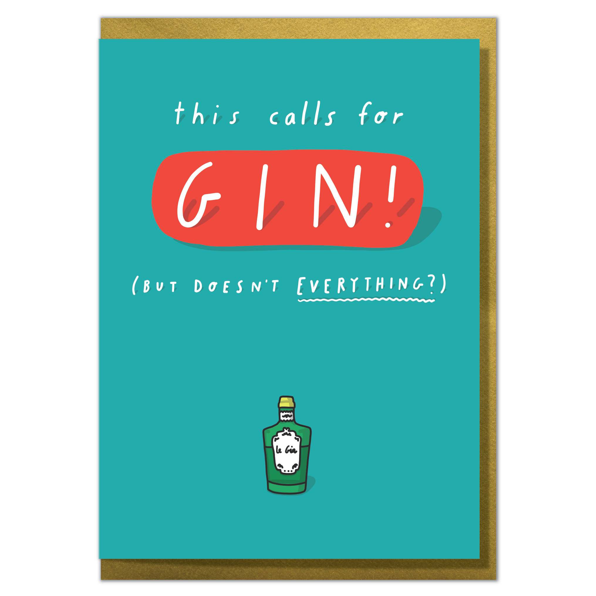 Yi 54 This Calls For Gin
