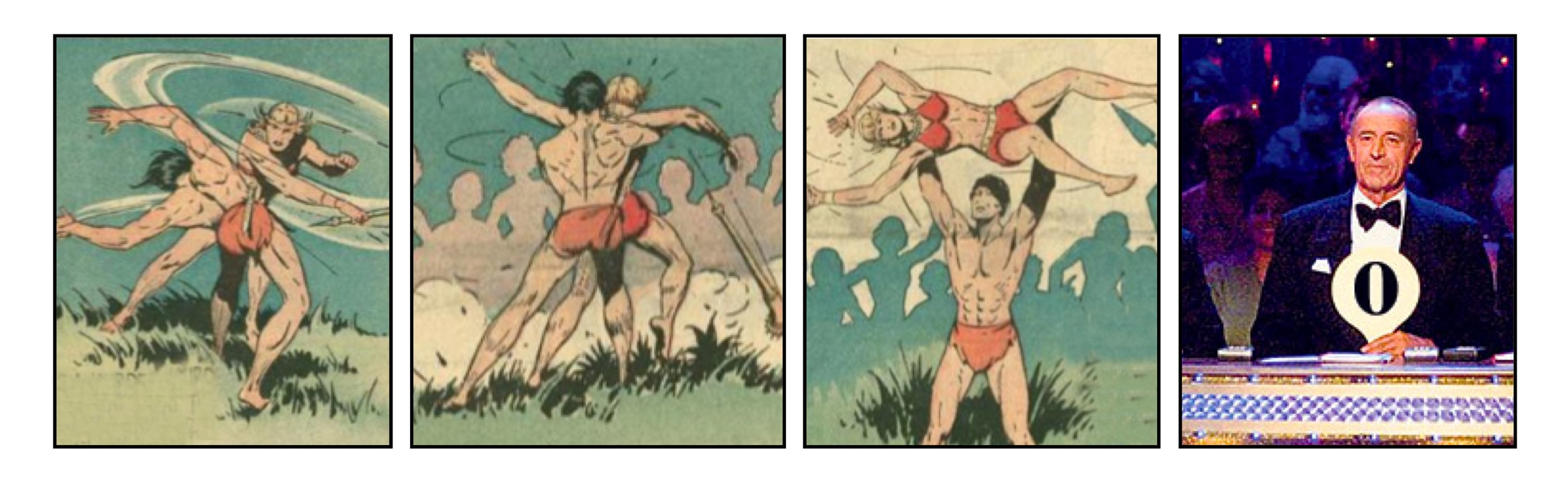 TARZAN vs. STRICTLY COME DANCING