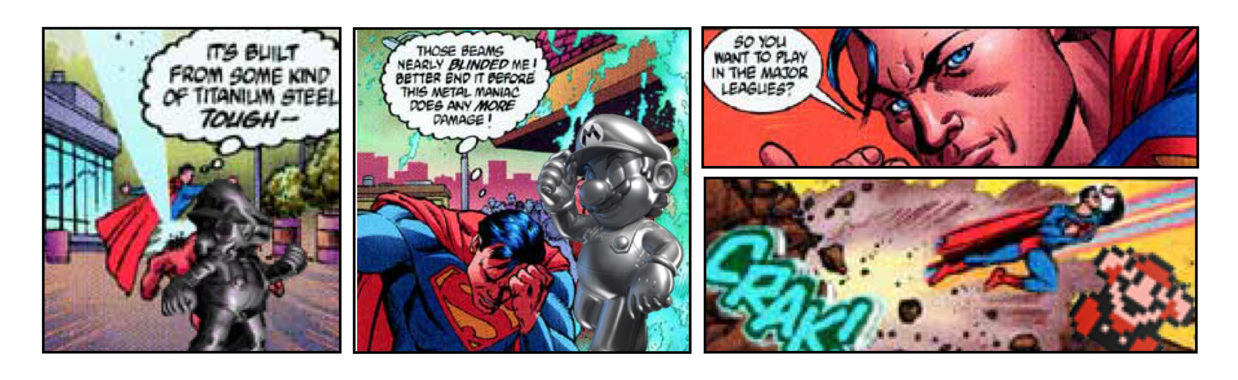 SUPERMAN vs. SUPER MARIO