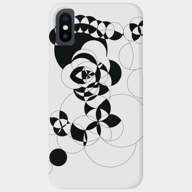 The Vision (Black) Smartphone case