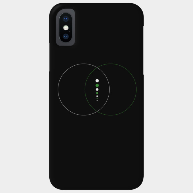 Inception (White) Smartphone Case