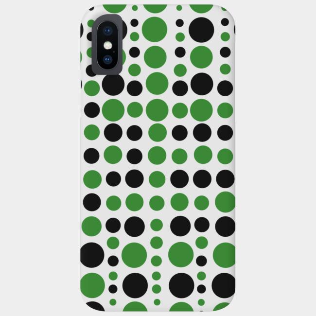 Drops (Black) Smartphone case