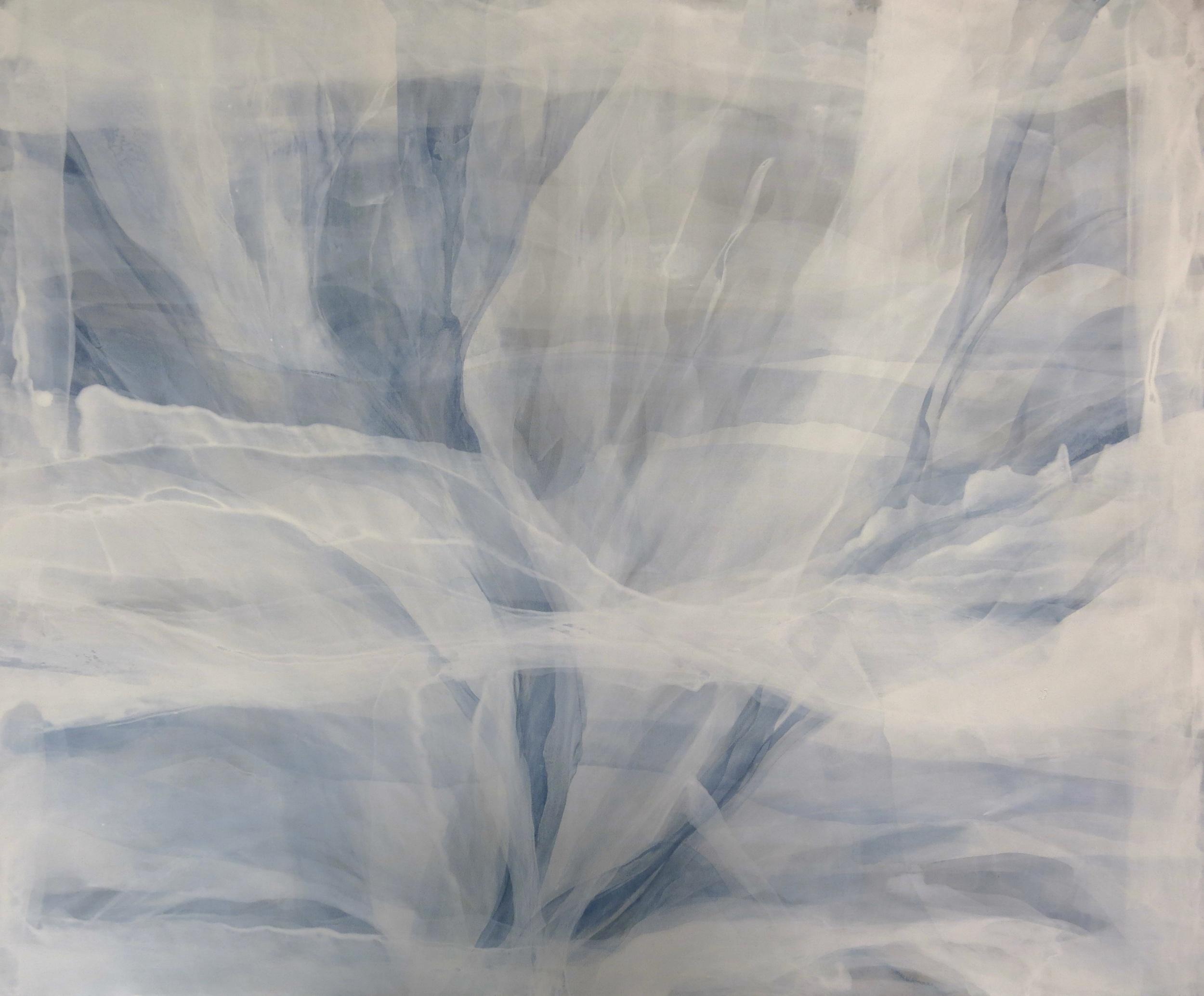 """""""soñaba que…"""" 100 x 120 cm. acrílico en lienzo."""