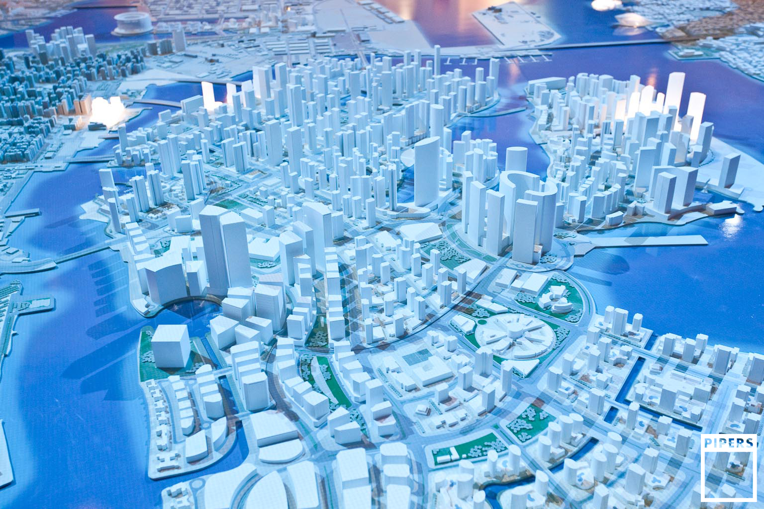 ABU DHABI VISION 2030 MODEL - UPC - 1:2000 SCALE