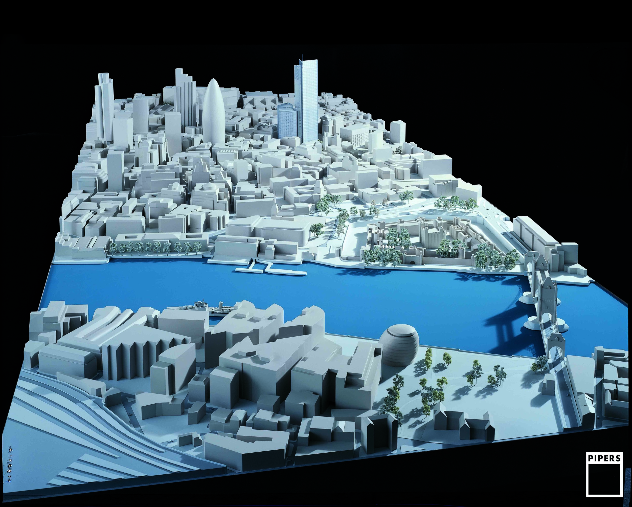 CITY OF LONDON CONTEXT - MINERVA - 1:750 SCALE