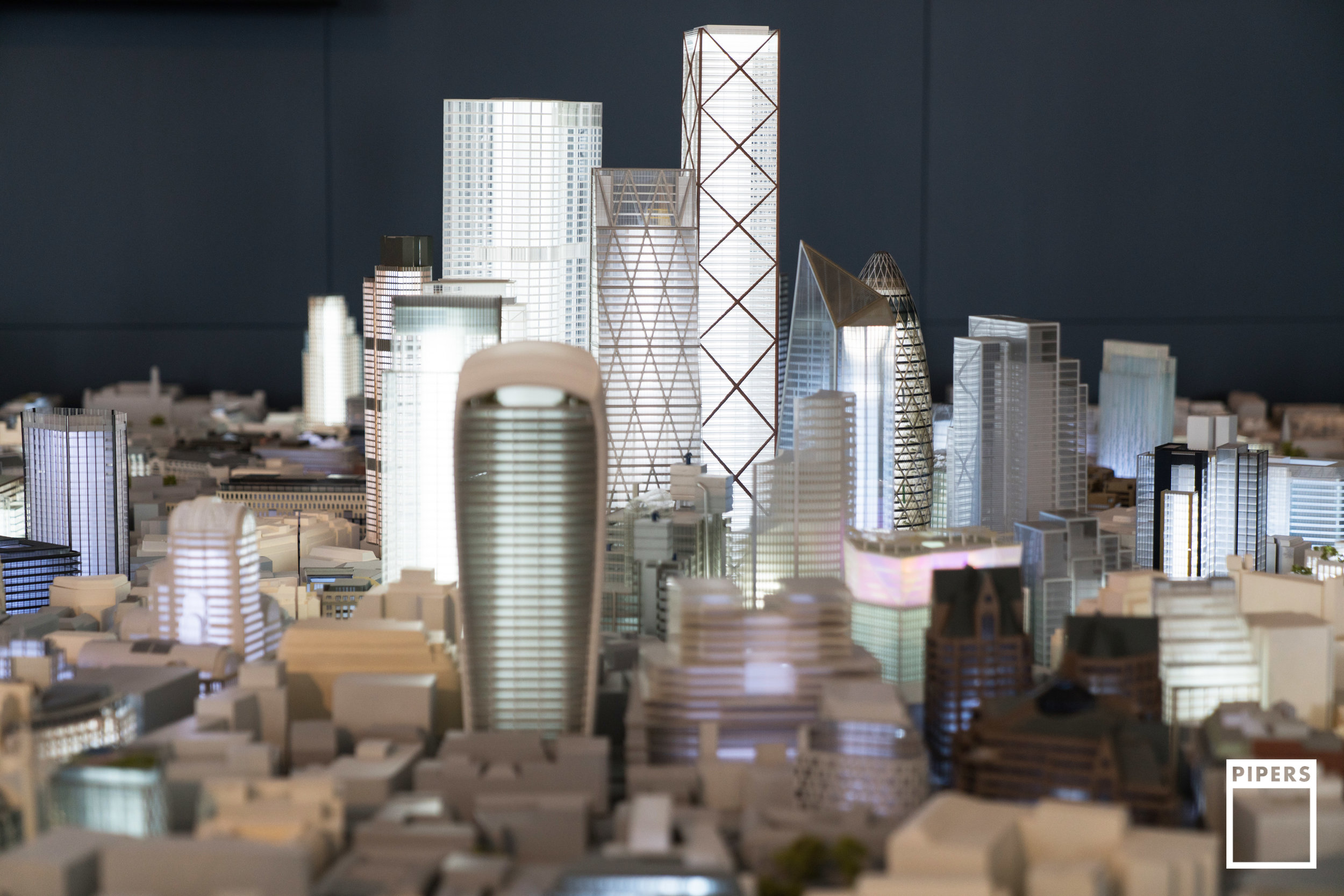 CITY OF LONDON MODEL - 1:500 SCALE