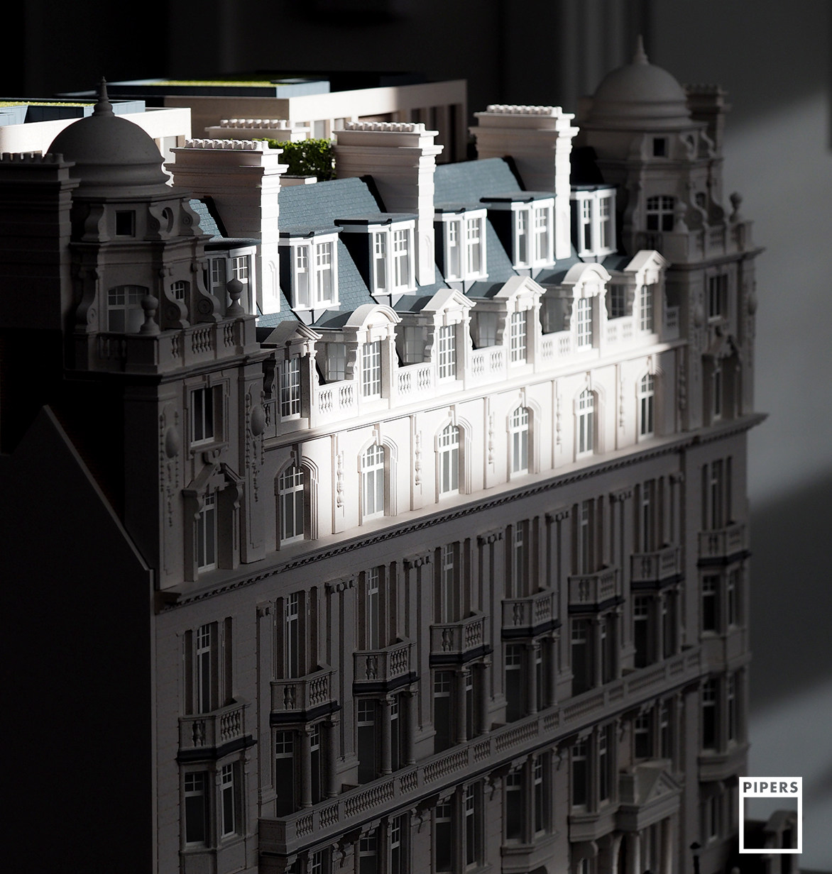 Harcourt House architectural model