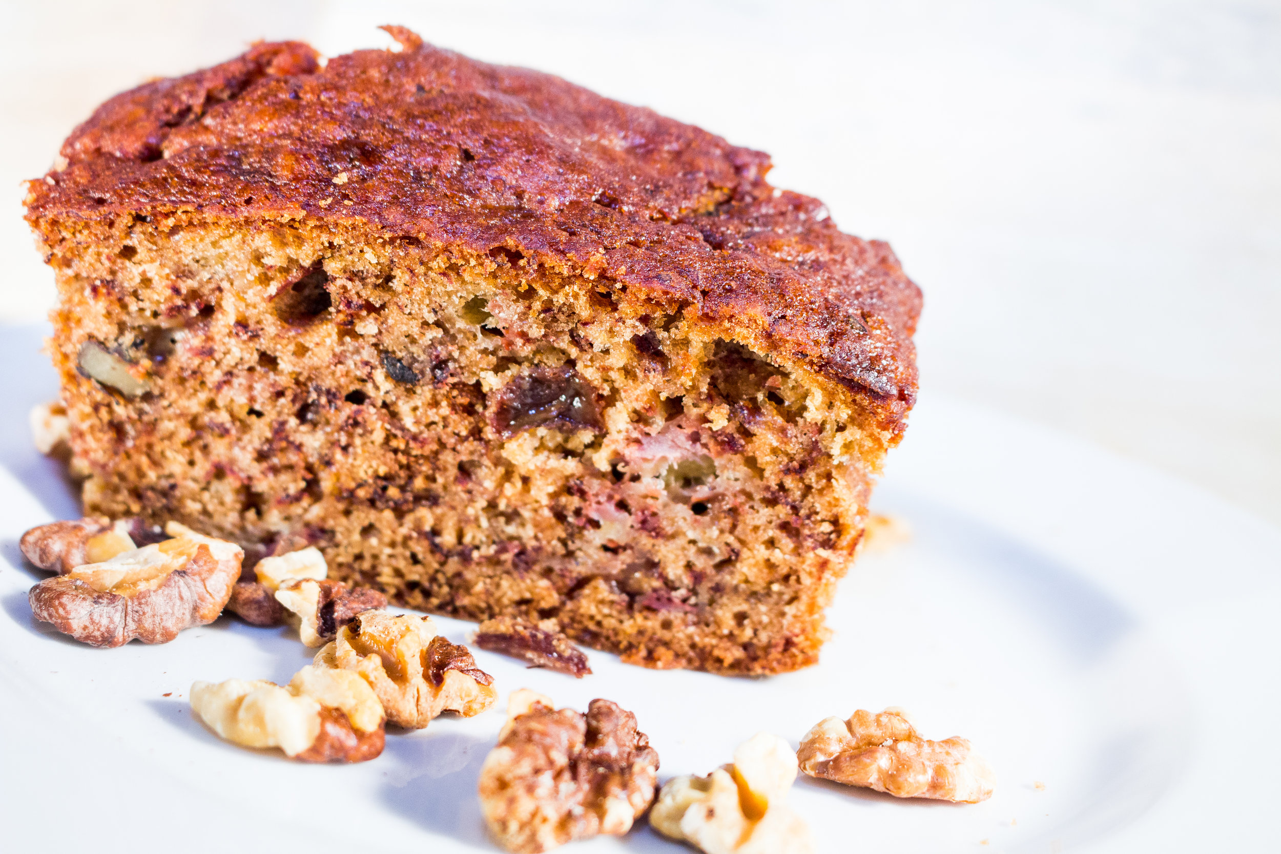 BANANA BREAD ² ⁴ ⁷ ¹⁰ - OUR FABULOUS BANANA BREAD LOAF IS ONE OF OUR MOST POPULAR TREATS. A MOIST LOAF LOADED WITH SEEDS AND WALNUT PIECES
