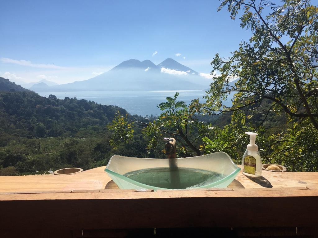 Bathroom view!