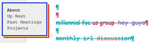 Millennial Focus Group