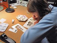 Linda's studio, Los Angeles, CA, 2005