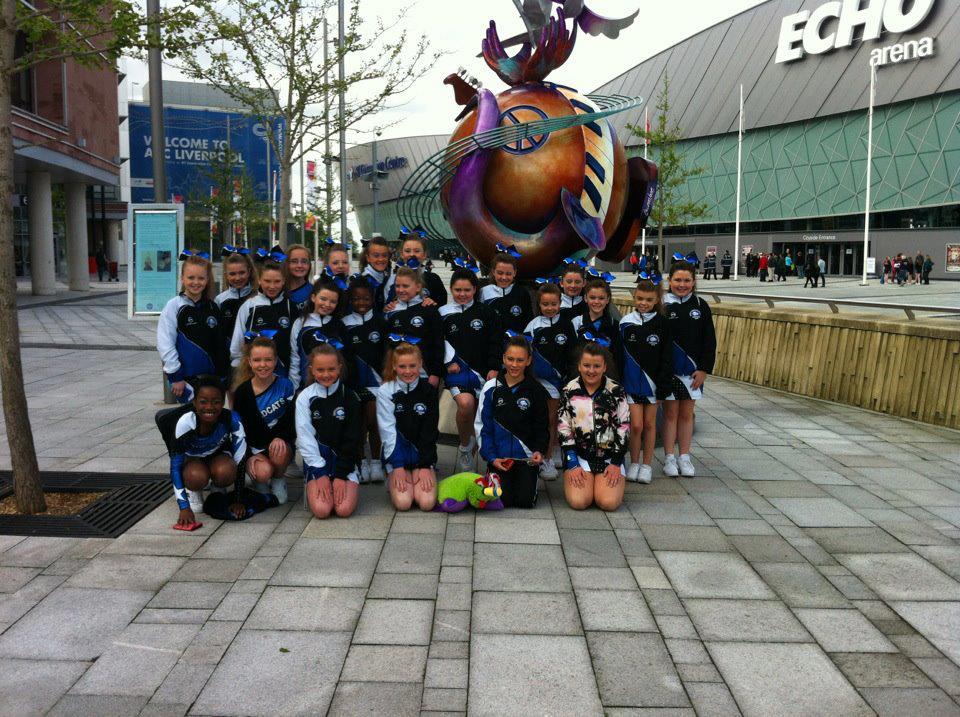 Wildcats Cheerleading Team, Dublin