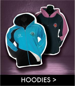 customized malley team hoodies