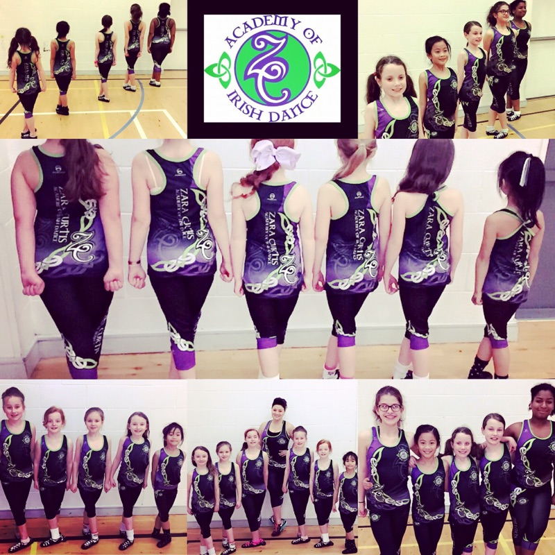 Zara Curtis Academy of Irish Dancing