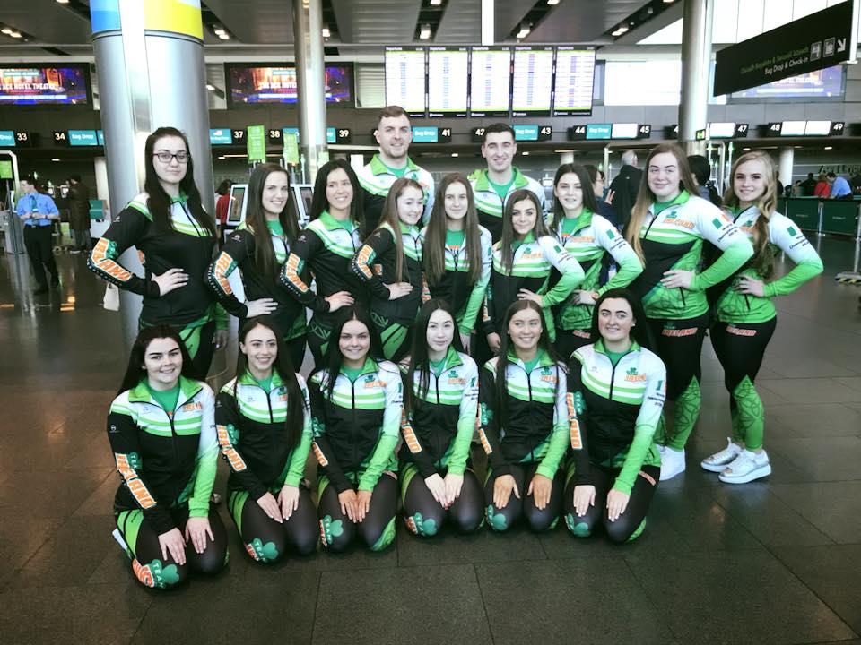 Team Ireland Cheer