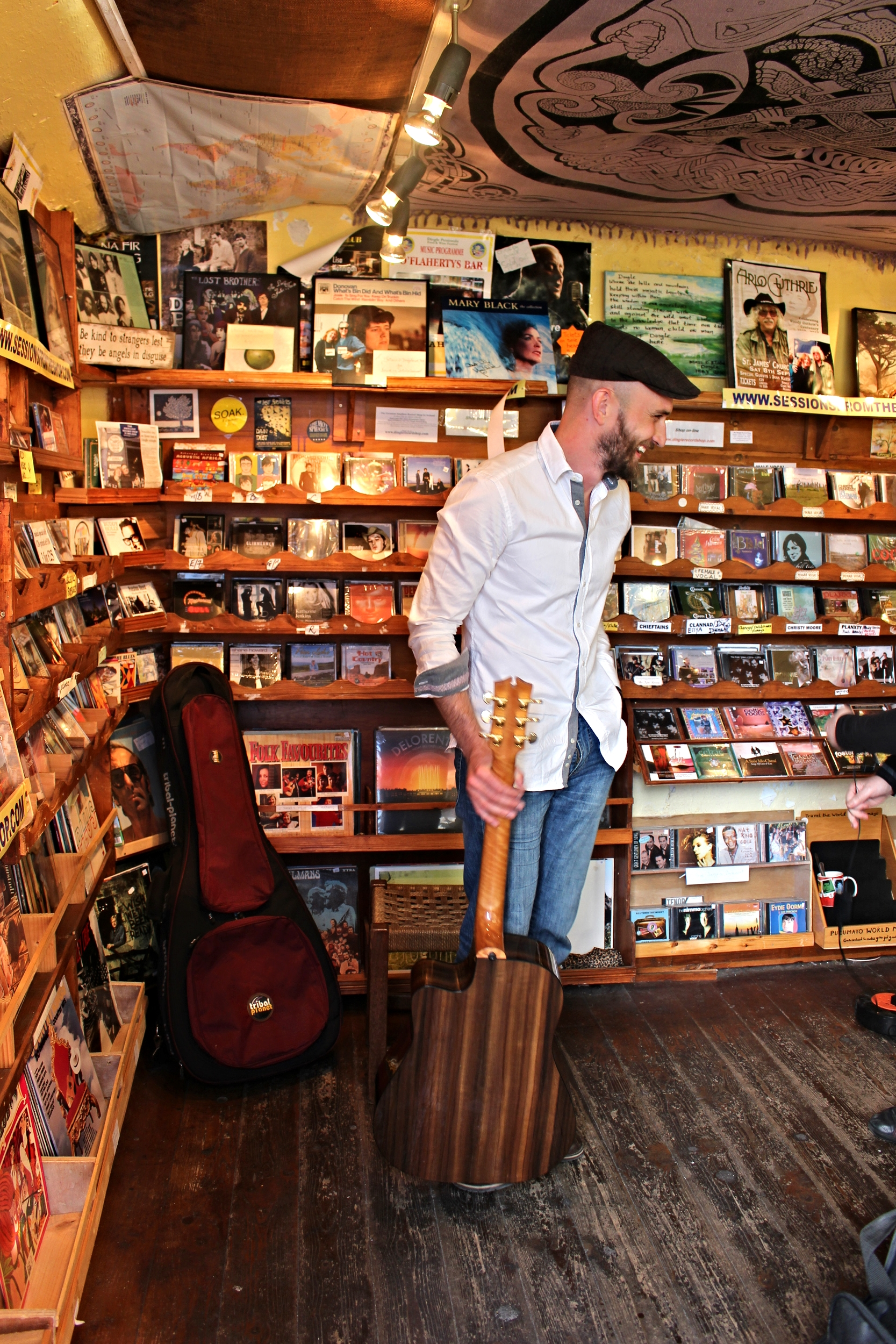 Standing In The Dingle Record Shop