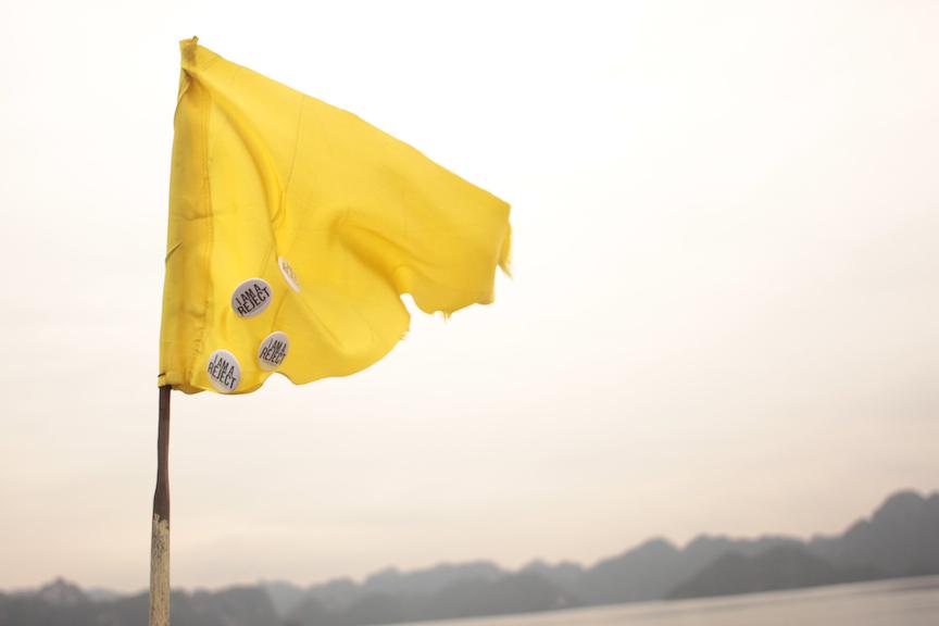 Reject Flag | HALONG BAY, VIETNAM