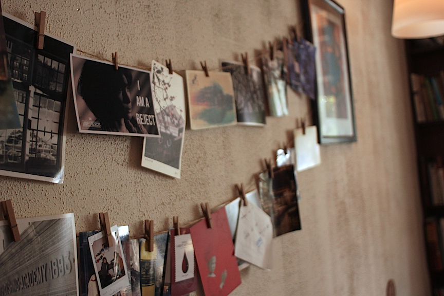 a sneak in the card line at Cafe Lumiere | HANGZHOU, CHINA