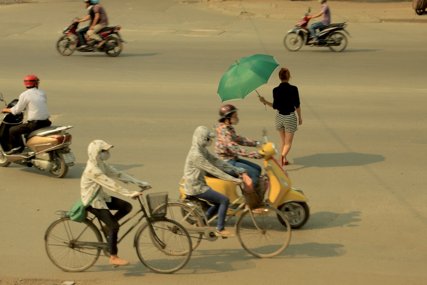 Rejecting Hanoi traffic | HANOI, VIETNAM