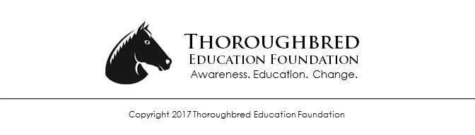 Copyright 2017 Thoroughbred Education Foundation