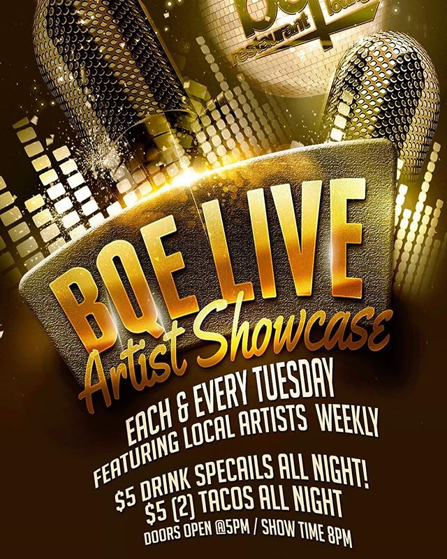 Every Tuesday Night @bqelounge starting Tonight.⚡️⚡️ 🎤Singers Only 🎤 We are looking for the BEST of the BEST singers to come out and perform tonight! You can perform with a track or sing with the band. If you got skills we wanna hear you Loud N Klear!  Sign up 7PM - Show 8PM - Tag ur favorite singers cause there will be a cash prize for the best performer. #ForSingersOnly #LoudNKlear #BQELive #singer #songwriter #atlantaevents #atlantashows #livemusic #livemusicatlanta #atllivemusic #morehousecollege #musicians #liveband #love