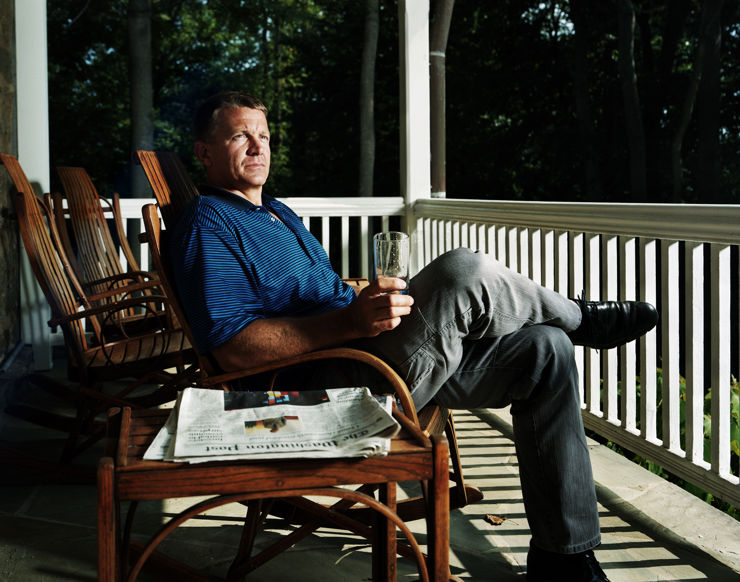 Erik Prince - founder and former owner of Blackwater USA - Fairfax County, VA