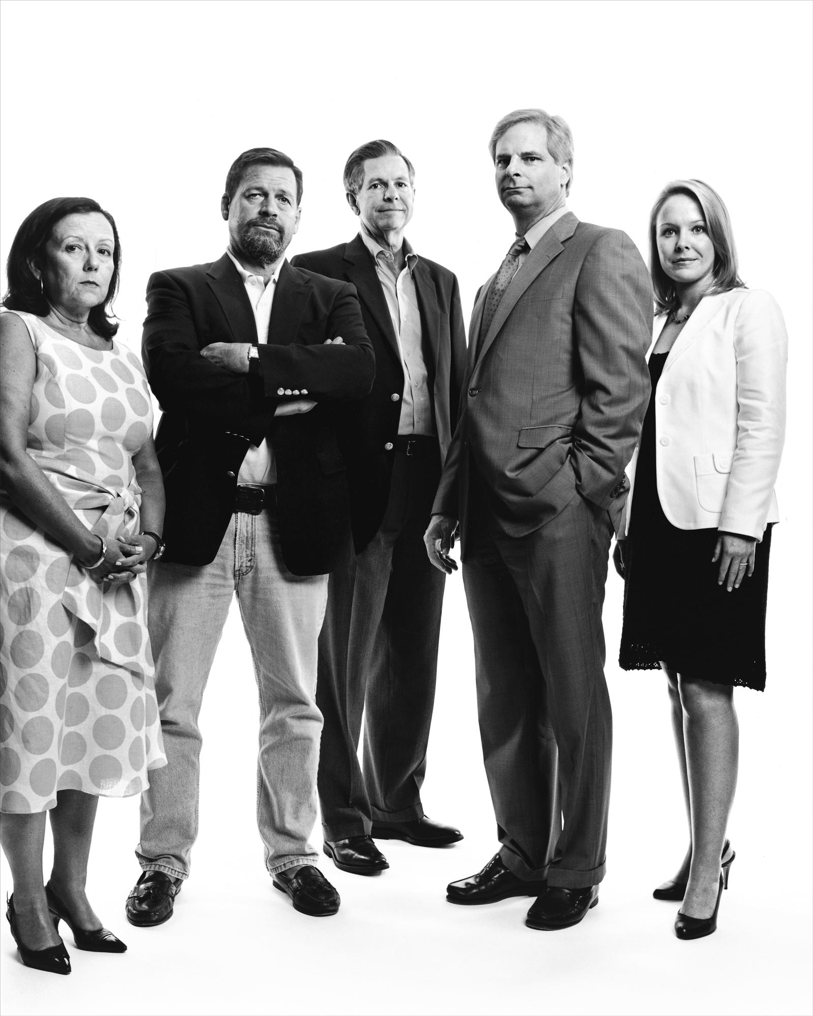 Rick Davis and members of John McCain's 2008 Presidential Campaign Team - Washington, D.C.