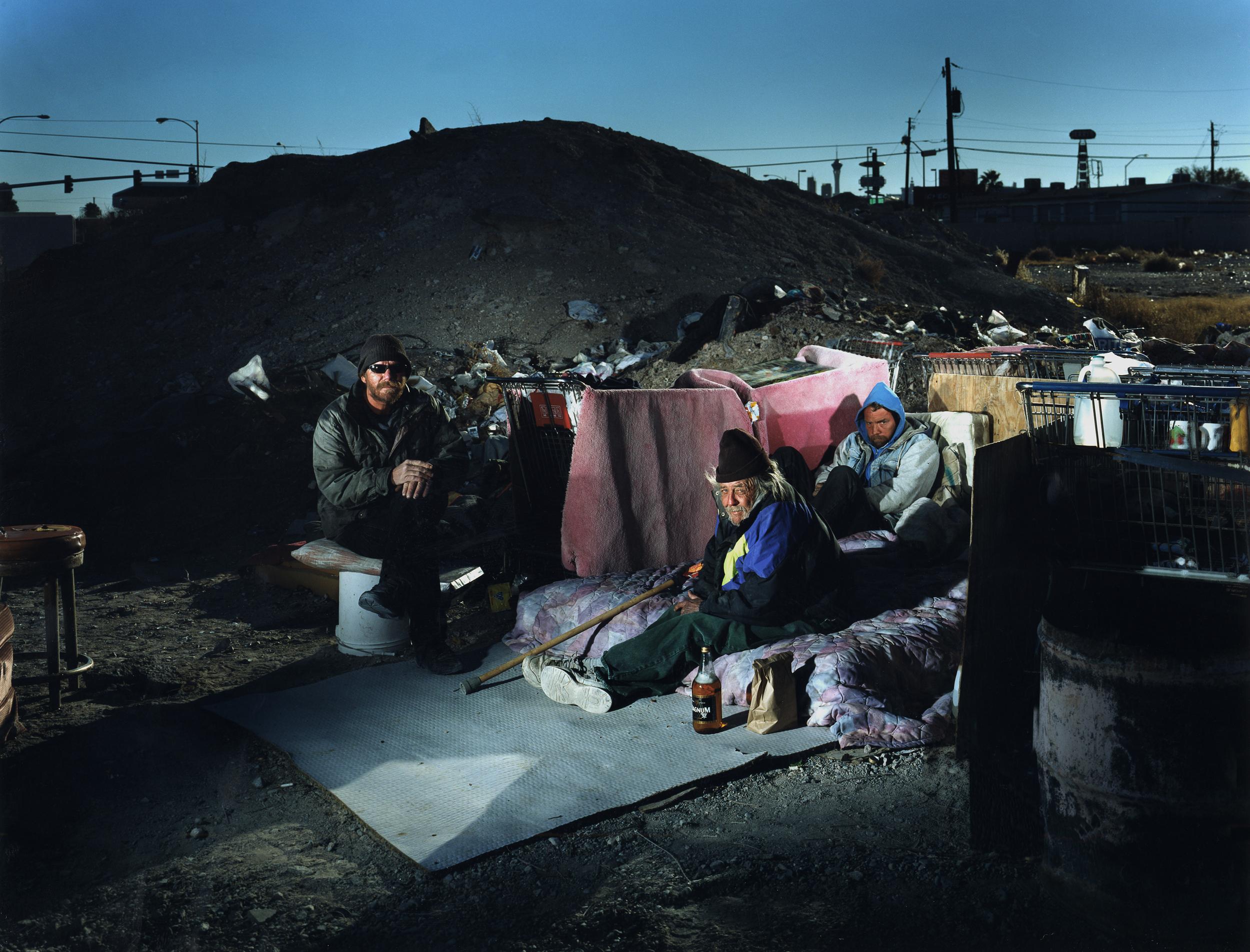 Homeless camp - Las Vegas, NV