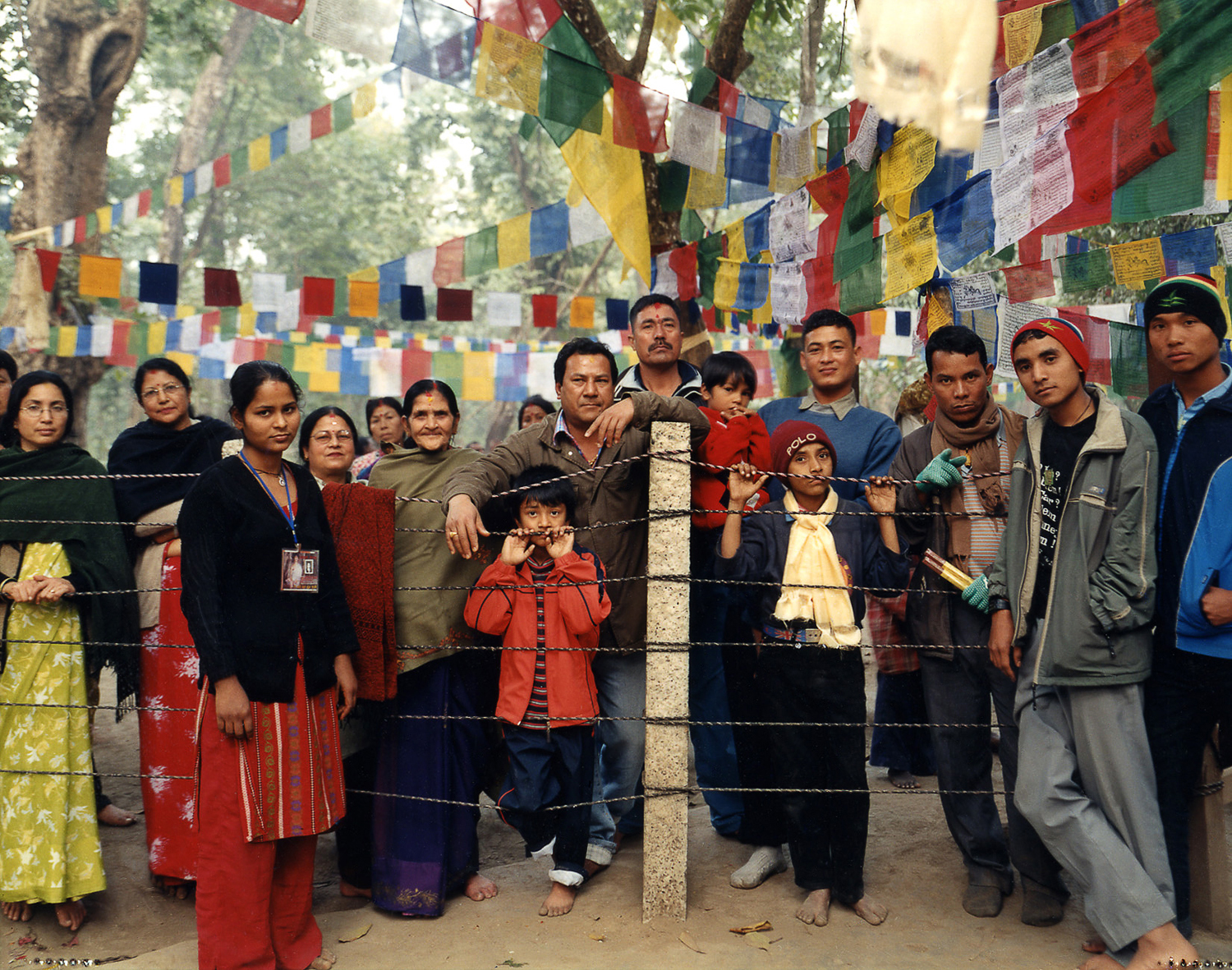Buddhist pilgrims from all over the region, and from around the globe came to witness the Buddha Boy - Bara Region, Nepal