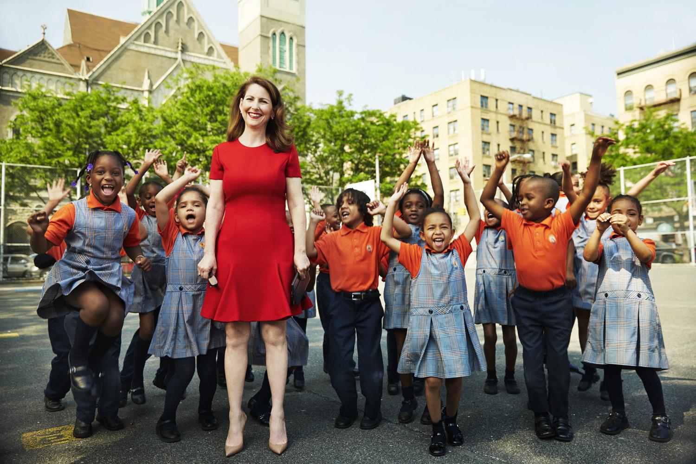 Eva Moskowitz, founder of Success Academy Charter Schools - New York City