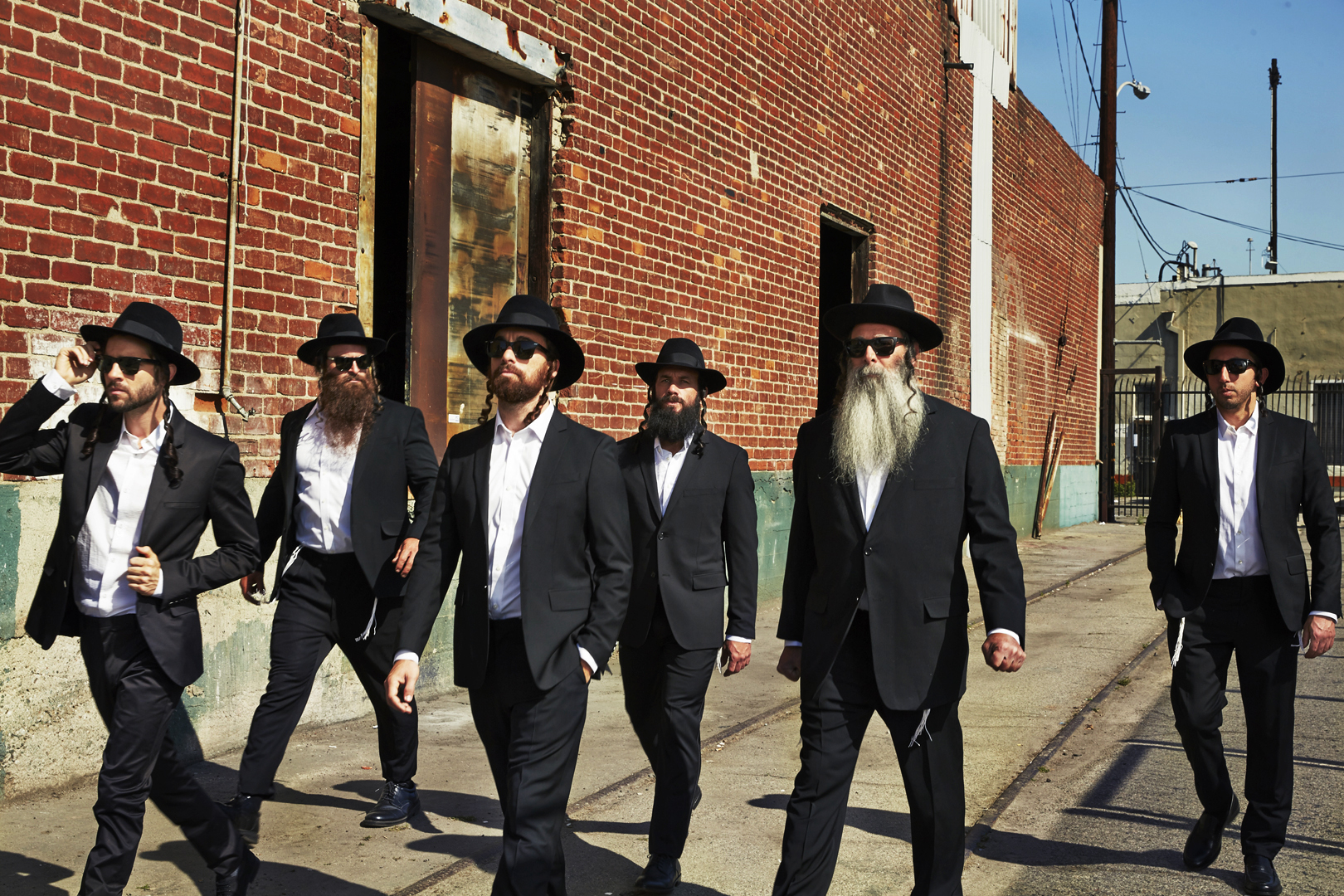 The Orthodox Hit Squad for GQ - Los Angeles, CA